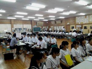 川辺高校大学短大進学相談会が開催されました